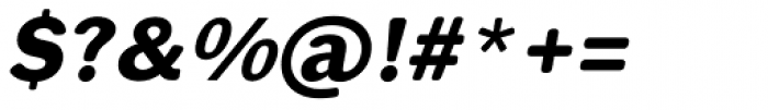 Xpress Rounded italic Bold Font OTHER CHARS