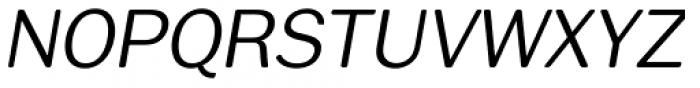 Xpress Rounded italic Light Font UPPERCASE