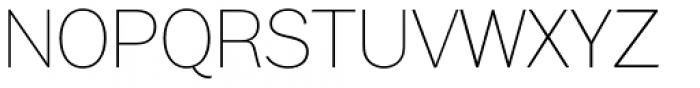 Xpress Thin Font UPPERCASE