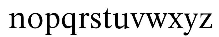 XSerif Unicode Font LOWERCASE