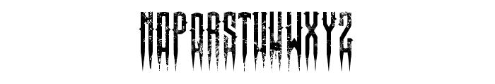 XSpiked-Regular Font LOWERCASE