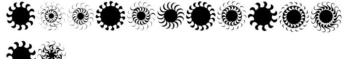 XStellaStern Five Font LOWERCASE