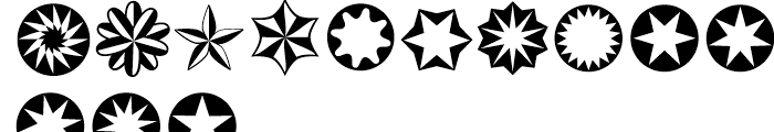 XStellaStern One Font UPPERCASE