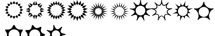 XStellaStern One Font LOWERCASE