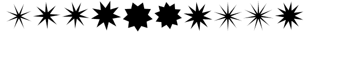 XStellaStern Three Font OTHER CHARS