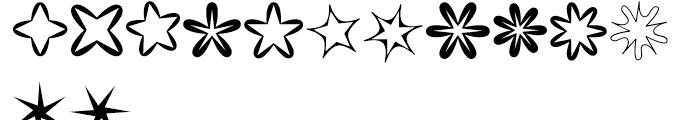 XStellaStern Two Font UPPERCASE
