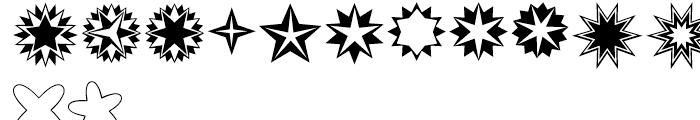 XStellaStern Two Font LOWERCASE