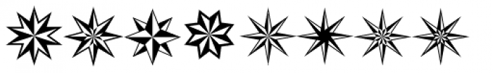 XStars And Stripes Two Font UPPERCASE