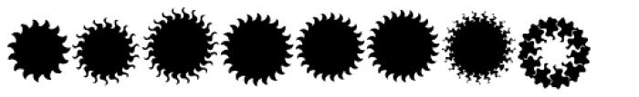 XStella Stern Five Font LOWERCASE