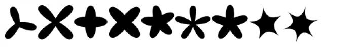 XStella Stern Three Font UPPERCASE