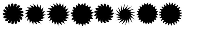 XStella Stern Three Font LOWERCASE