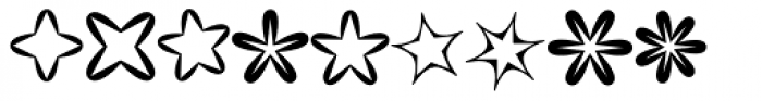 XStella Stern Two Font UPPERCASE
