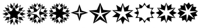 XStella Stern Two Font LOWERCASE