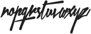 Xtreem Fat otf (800) Font LOWERCASE