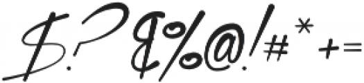 Xtreem Medium otf (500) Font OTHER CHARS