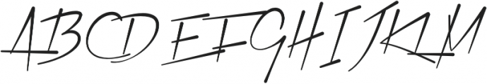 Xtreem Medium otf (500) Font UPPERCASE