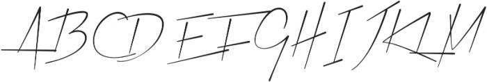 Xtreem Thin otf (100) Font UPPERCASE
