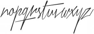 Xtreem Thin otf (100) Font LOWERCASE
