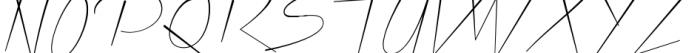Xtreem Thin Font UPPERCASE