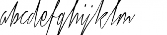 Xtreem Thin Font LOWERCASE