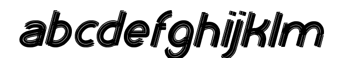 XTRAPOWER Font LOWERCASE