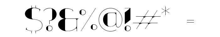 Xthlx-Medium Font OTHER CHARS