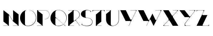 Xthlx-Medium Font UPPERCASE