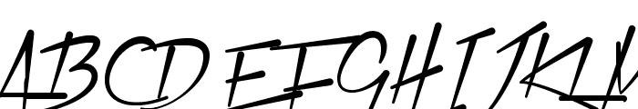 Xtreem Fat Demo Font UPPERCASE