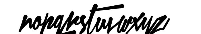 Xtreem Fat Demo Font LOWERCASE