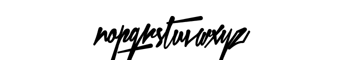Xtreem Fat PERSONAL USE Font LOWERCASE