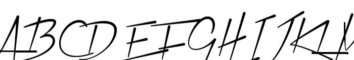 Xtreem Medium Demo Font UPPERCASE