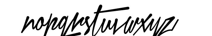 Xtreem Medium Demo Font LOWERCASE