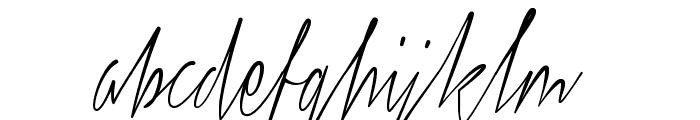 Xtreem Thin Demo Font LOWERCASE