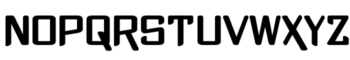 Xtreme Chrome Font UPPERCASE