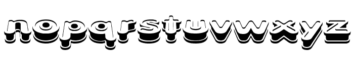 Xtrusion BRK Font LOWERCASE