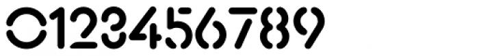 Xtencil Pro Medium Font OTHER CHARS