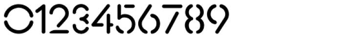 Xtencil Pro Regular Font OTHER CHARS