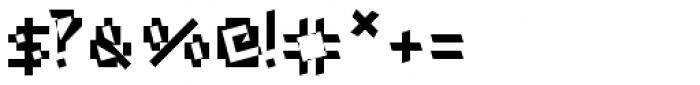 Xtoxina Font OTHER CHARS
