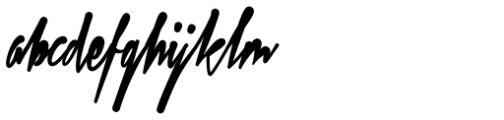 Xtreem Fat Font LOWERCASE