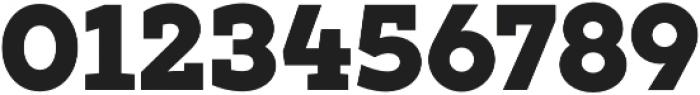 XXII Geom Slab Heavy otf (800) Font OTHER CHARS
