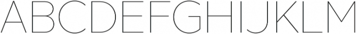 XXII Geom Thin otf (100) Font UPPERCASE