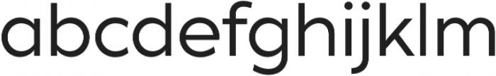 XXII Geom otf (400) Font LOWERCASE