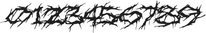 XXII Nekro otf (400) Font OTHER CHARS