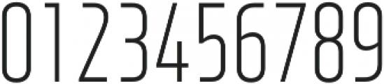 XXII Neue Norm Cnd Light otf (300) Font OTHER CHARS