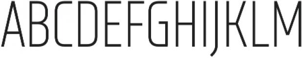 XXII Neue Norm Cnd Light otf (300) Font UPPERCASE