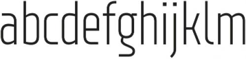 XXII Neue Norm Cnd Light otf (300) Font LOWERCASE