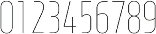 XXII Neue Norm RndCnd ExtraThin otf (100) Font OTHER CHARS