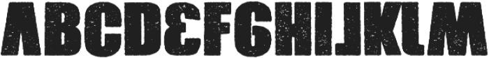 Xxrdcore otf (400) Font LOWERCASE