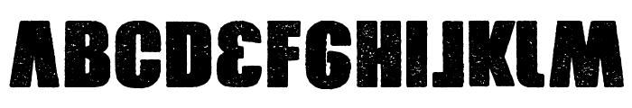 Xxrdcore Font LOWERCASE