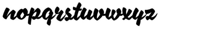XXII AwesomeScript Font LOWERCASE